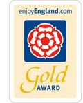 Kent View Cottage Gold Award for Exceptional Quality of Accommodation and Customer Service